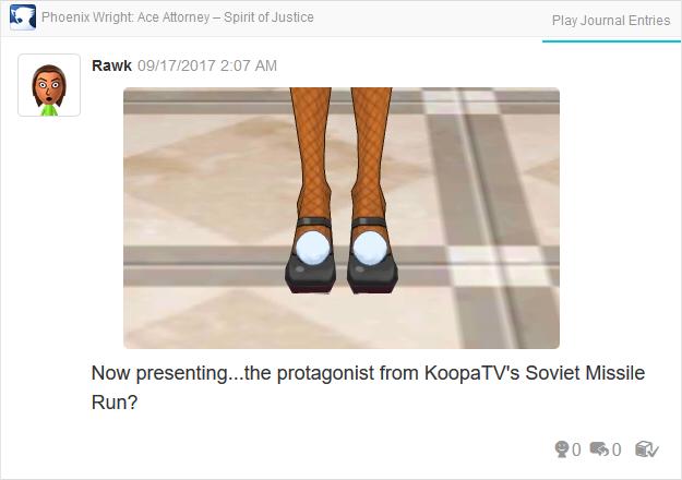Phoenix Wright Ace Attorney Spirit of Justice Betty Bonne leggings shoes feet
