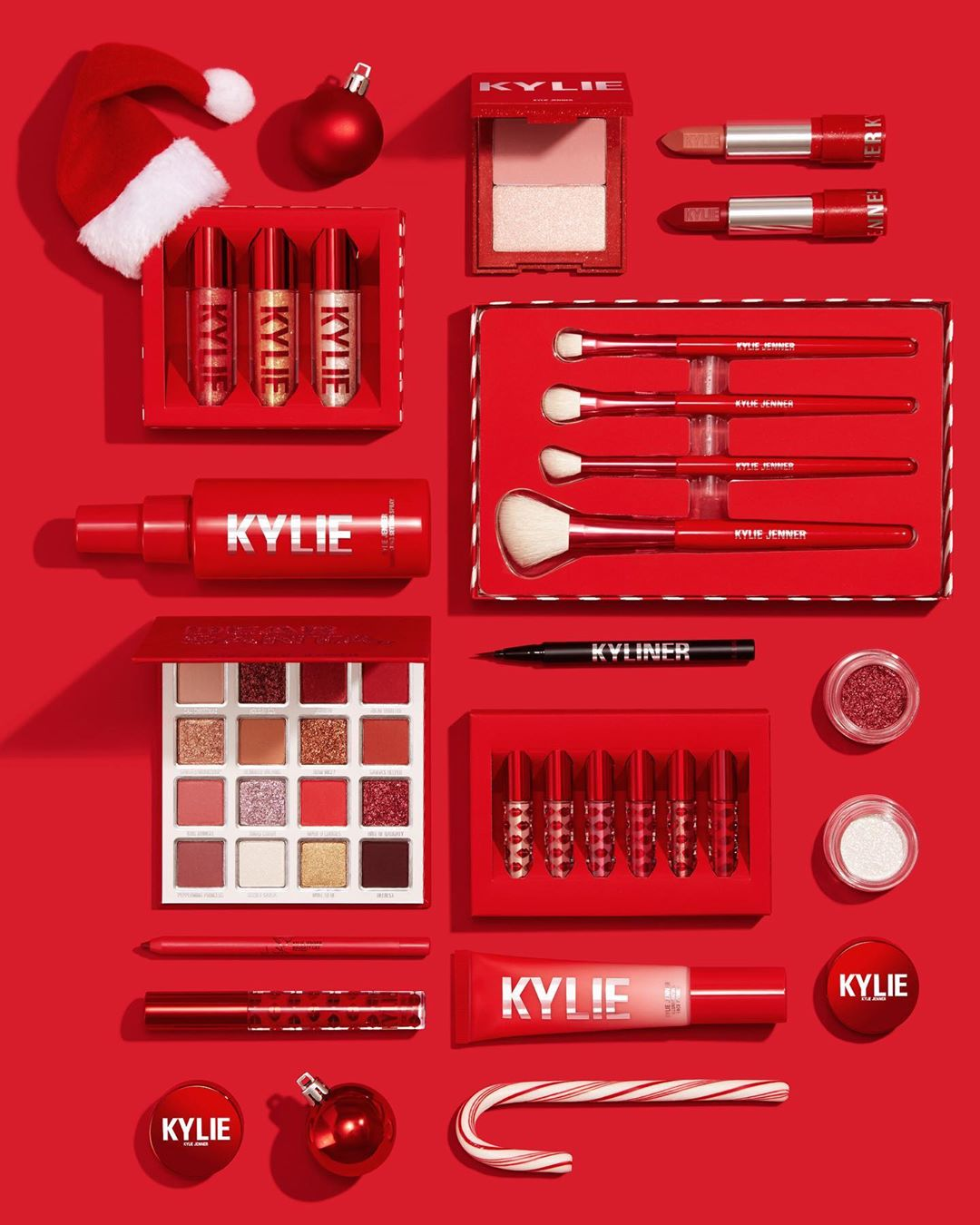 Kylie Cosmetics Holiday 2019 Campaign