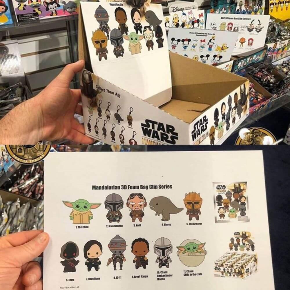 Подвесные сюрпризы игрушки Мандалорец и Звездные войны 2020