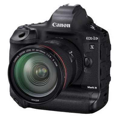 Canon EOS-1D X Mark III Camera in Development