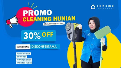 Jasa Cleaning Service Terpercaya OKHOME