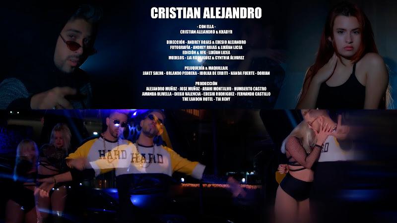 Cristian Alejandro - ¨Con Ella¨ - Videoclip - Dirección: Andrey Rojas - Edesio Alejandro. Portal Del Vídeo Clip Cubano. Música cubana. Reguetón. Cuba.