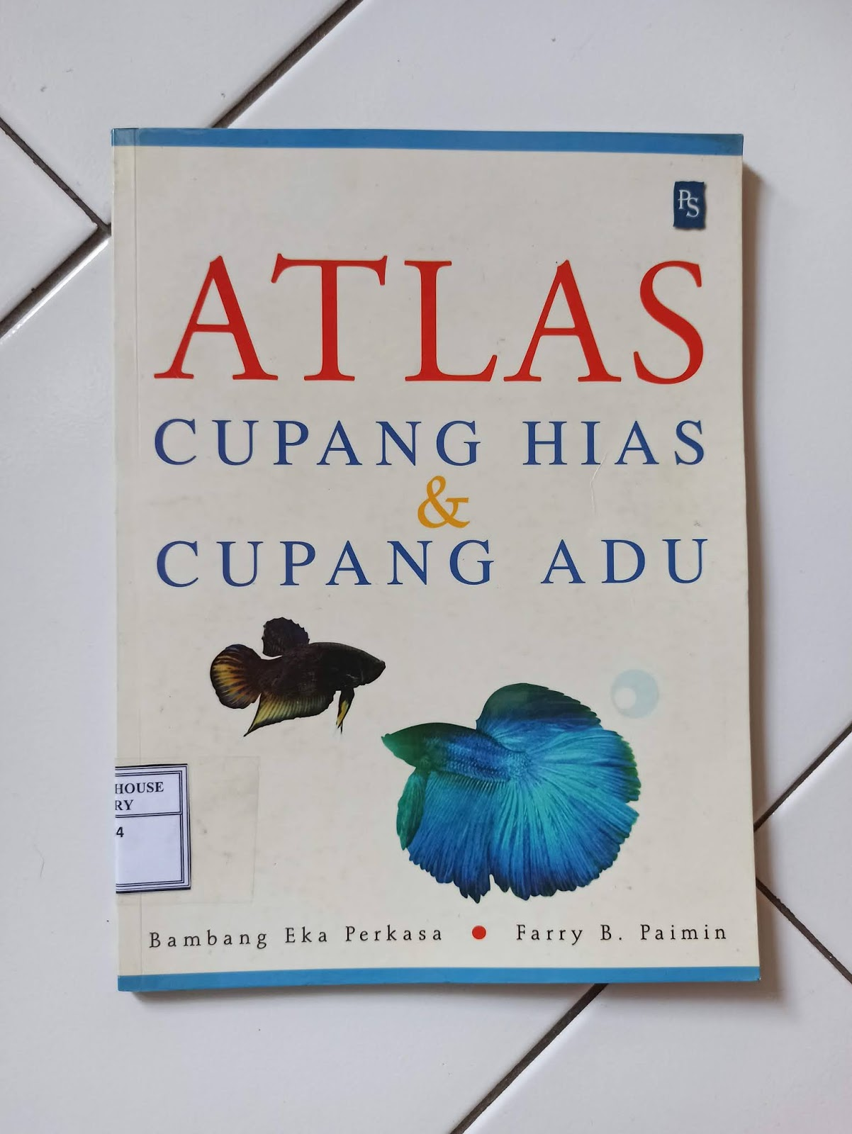 Buku Cupang Karya Bambang Eka Perkasa
