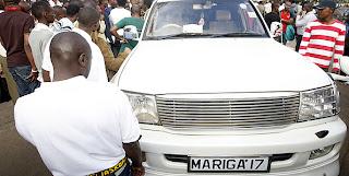 mariga number plate