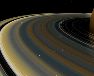Decoding Satan: Saturn's rings, moons may be younger than ...