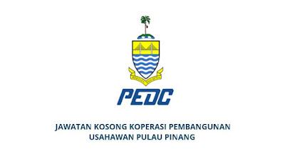 Jawatan Kosong Koperasi Pembangunan Usahawan Pulau Pinang 2020