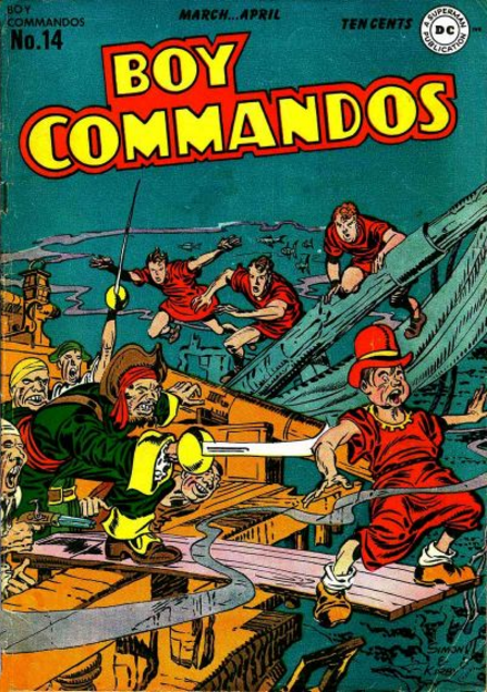 Boy Commandos Jack Kirby