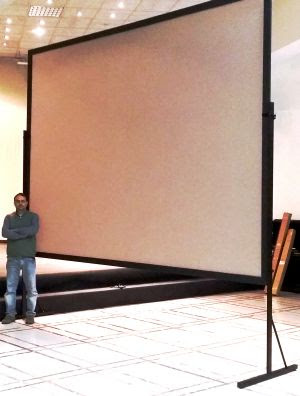schermo videoproiettore roma