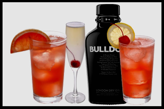 bulldog gin cocktails