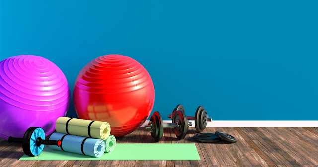 Most Productive  Things You Should Do During Lock-down. Fitness and gym instruments for home workout during lockdown.