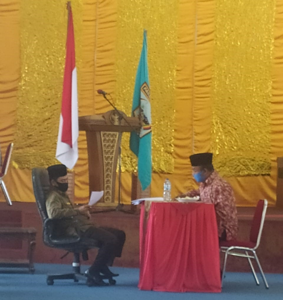 Pemilihan Panitia Baznas Kabupaten Pasbar Masih Menunggu Arahan Baznas Pusat