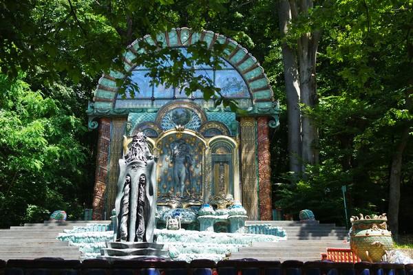 vienna vienne otto wagner villa ernst fuchs museum hütteldorf penzing fontaine fountain