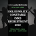 Delhi Police Constable (SSC) Recruitment 2020 | Post- 5846| Sarkari Job