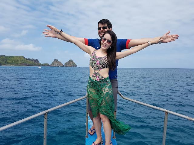 Passeio de barco - Fernando de Noronha