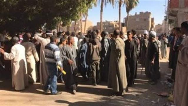 إصابة 6 أشخاص في مشاجرة بسبب لهو الأطفال بقرية تونس فى سوهاج