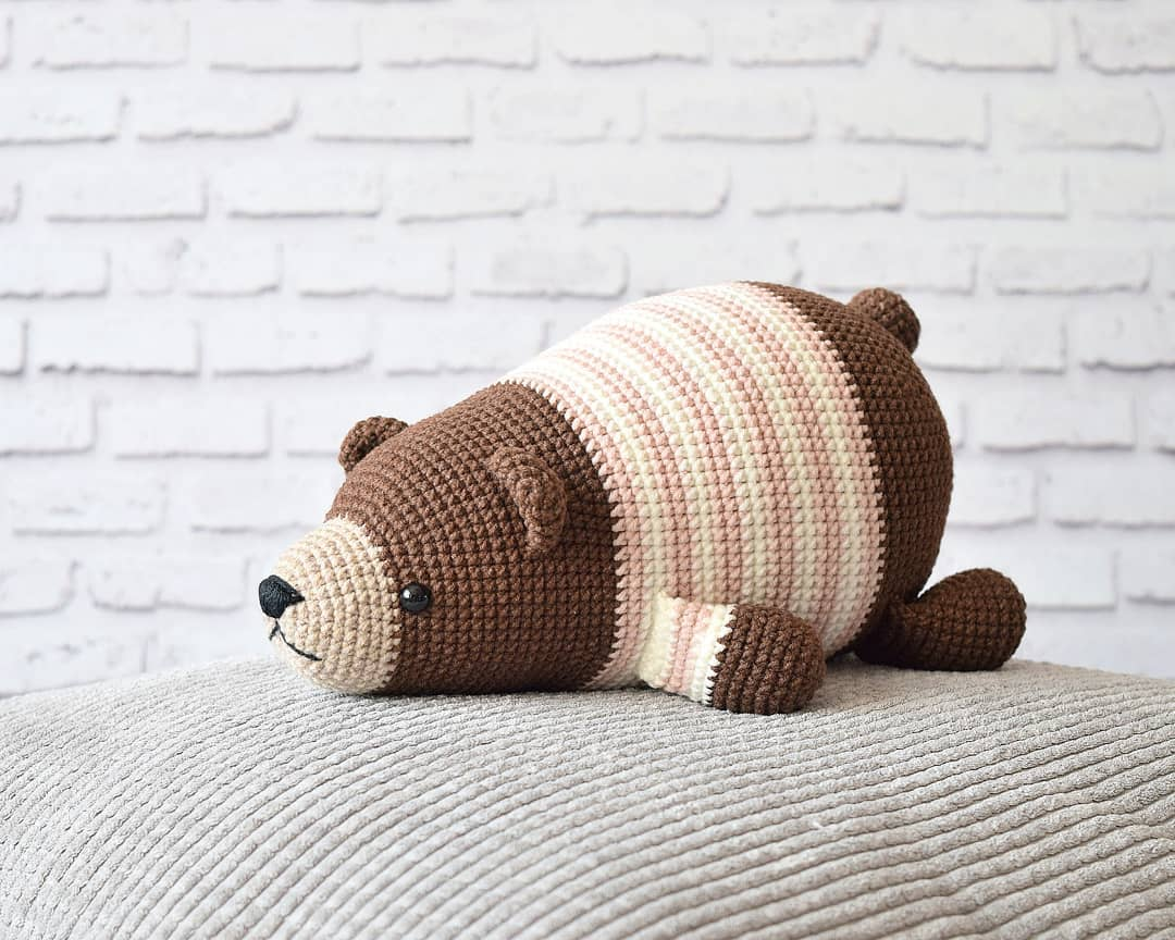 Amigurumi Crochet Panda Pattern | Supergurumi | 864x1080