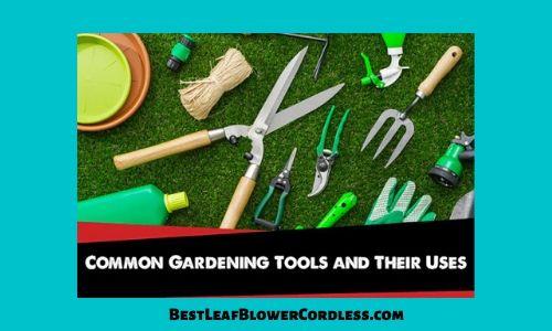 Top 7 Most Common Garden Tools