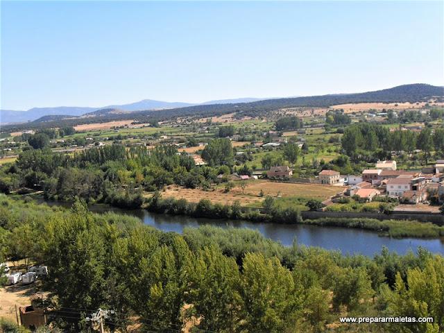 alrededores de Ciudad Rodrigo, zona del río