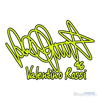 Valentino Rossi Signature Logo vector (.cdr)