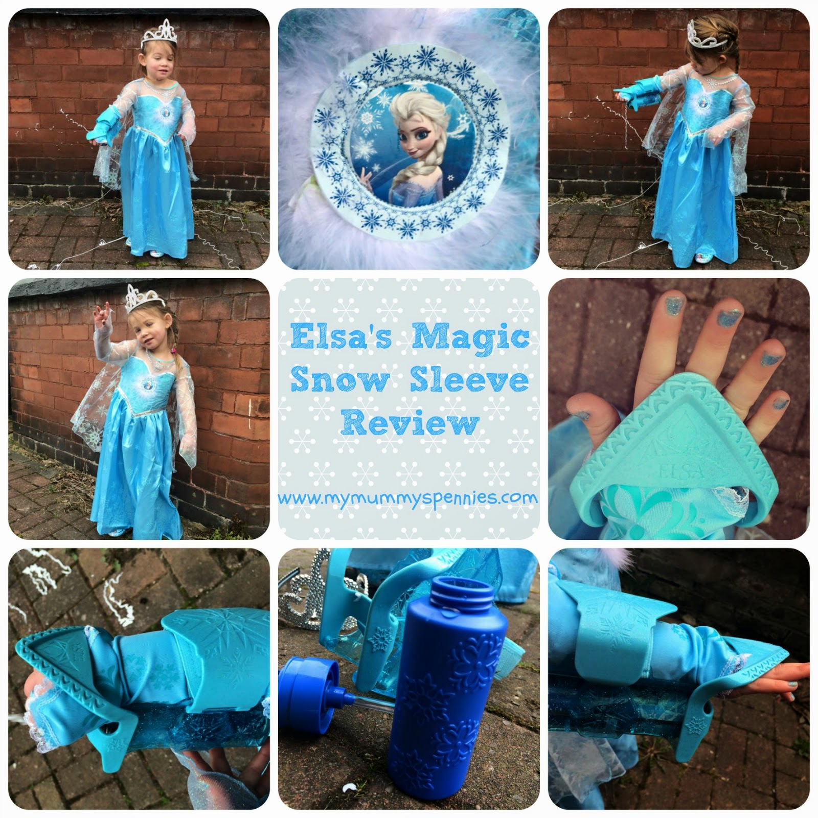 My Mummy\'s Pennies: Frozen Elsa\'s Magic Snow Sleeve Review