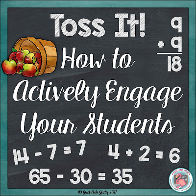 Use Toss It! to actively engage your first and second graders while adding and subtracting basic facts or two-digit numbers with multiples of ten.