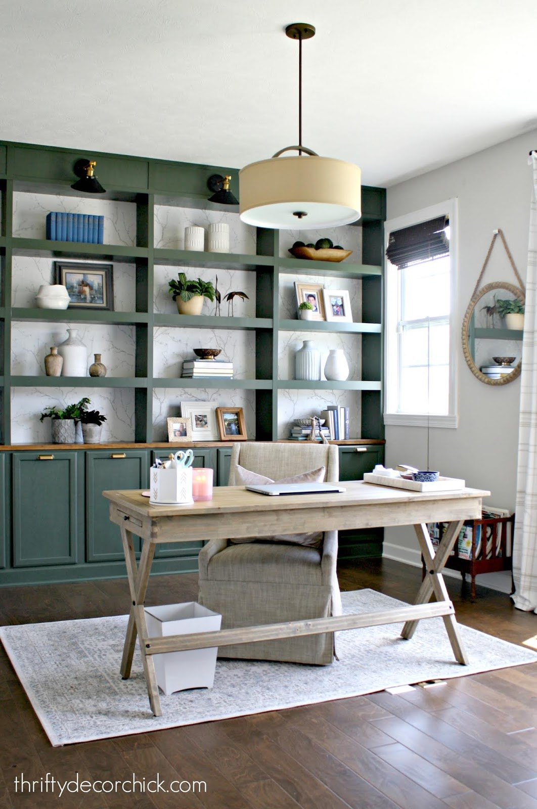 How to build a wall of bookcases
