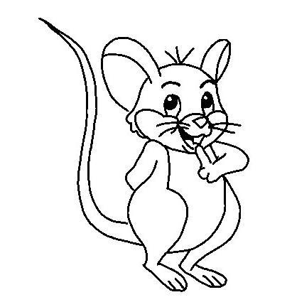 Desenhos De Ratinhos Para Colorir