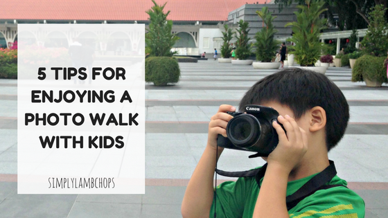 5 tips for enjoying a photo walk with kids