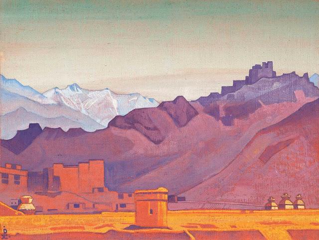 Николай Рерих - Путь на Тибет