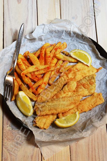 hiperica di lady boheme blog di cucina, ricette gustose, facili e veloci. Fish and chips a modo mio
