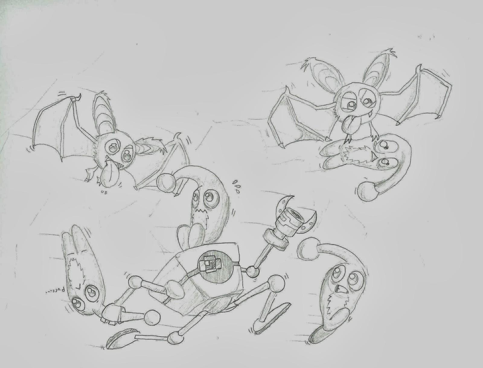 Caos Espacial 257: Algunos dibujos de Winkel
