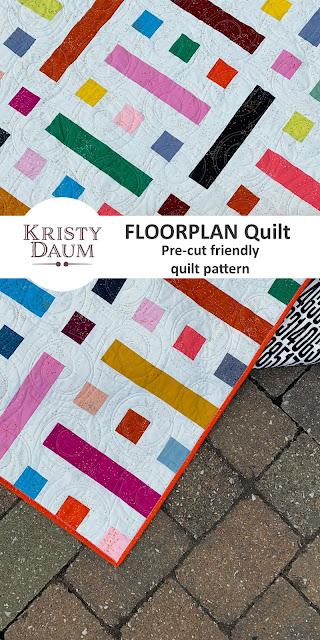 FLOORPLAN Quilt Pattern - Kristy Daum