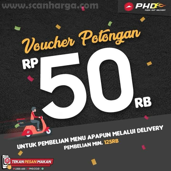PHD Voucher Potongan Rp 50.000 Setiap pembelian min. Rp 125Rb*
