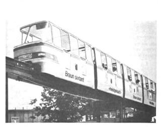 Minirail - wersja oryginalna używana podczas EXPO'64 w Lozannie