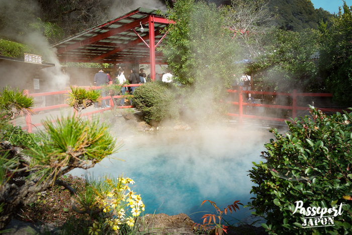 Lac turquoise, Kamado Jigoku, Beppu, Oita