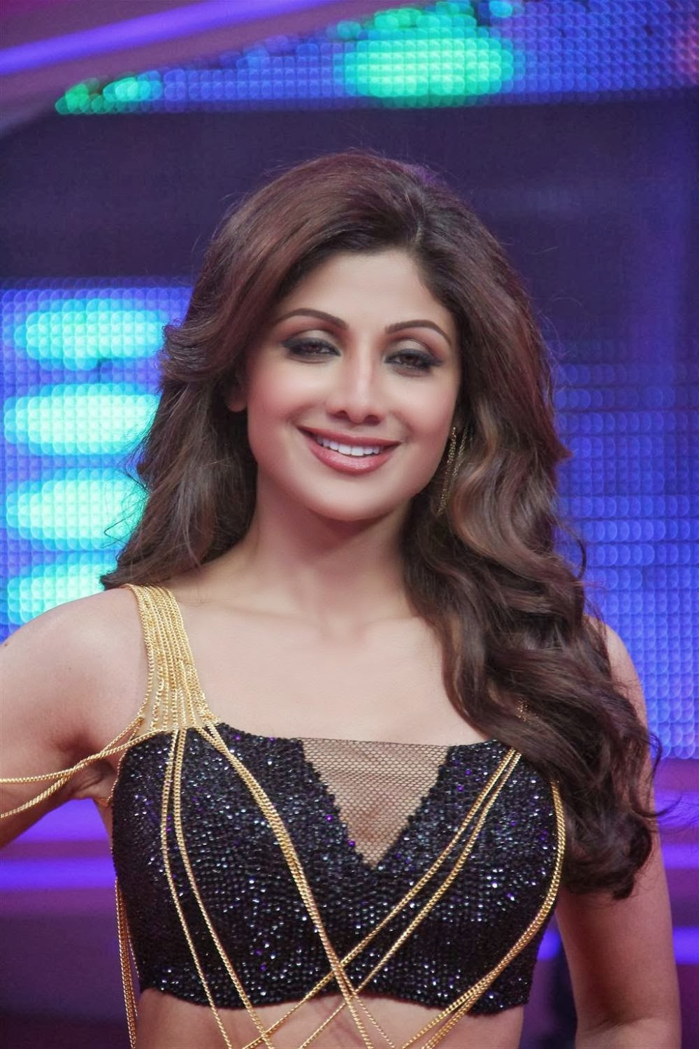 Goosball Shilpa Shetty Looking Gorgeous At Grand Finale -1141