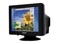 perangkat keluaran output device - monitor crt