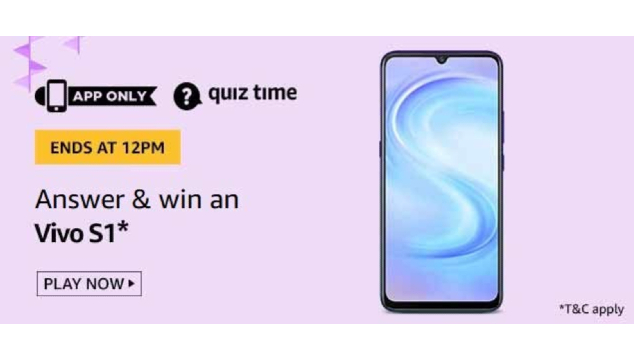 Amazon-Quiz-Answers-For-Today-24th-May-2020-Win-Vivo-S1