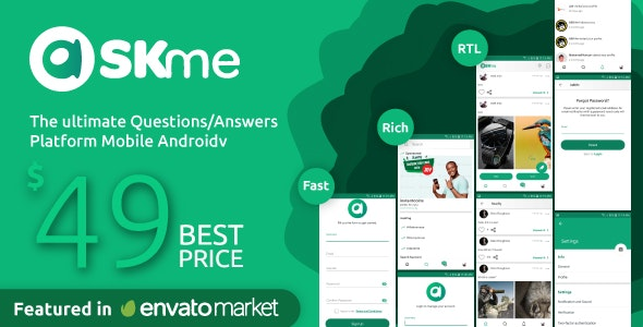 Download AskMe Android v1.0.1 - Mobile Questions & Answers Social Network Application