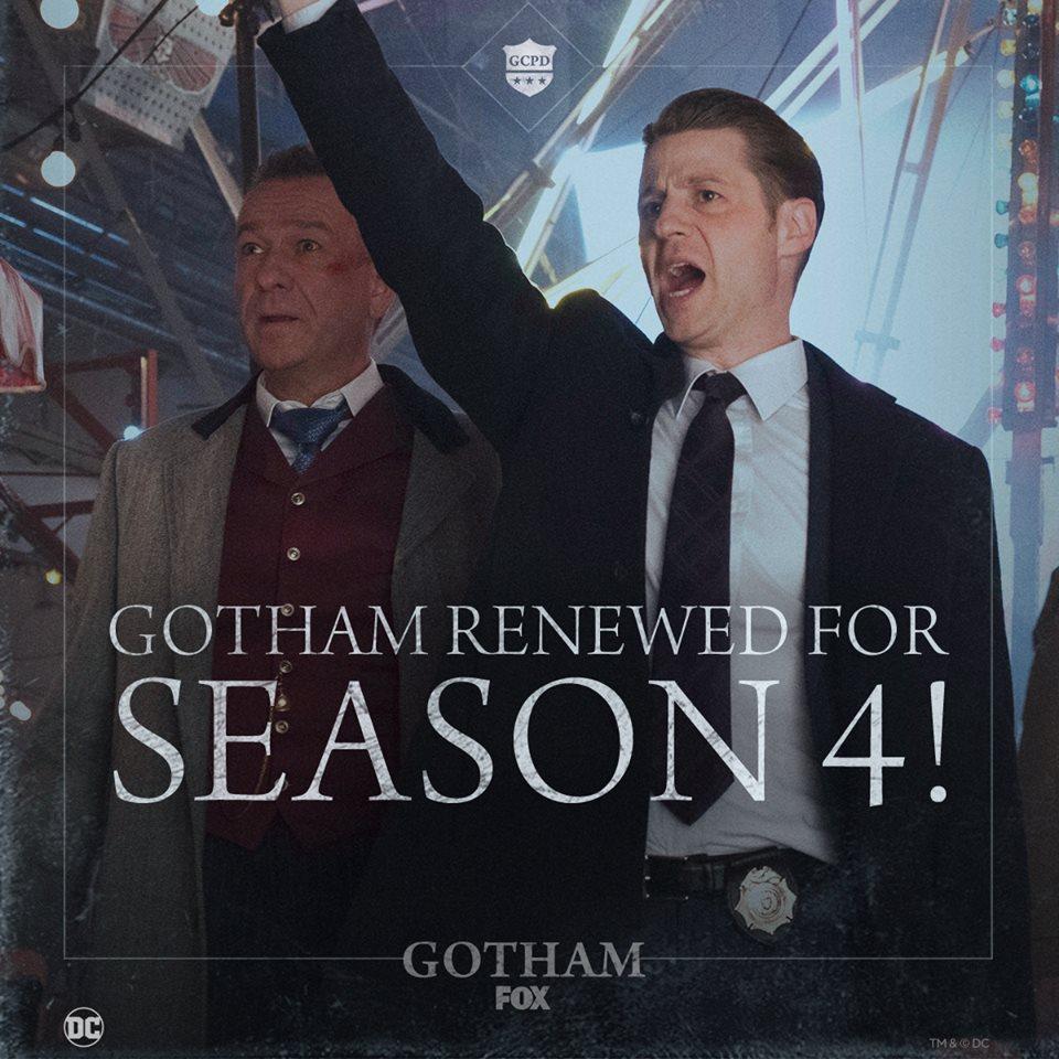 La Fox commande une saison 4 pour la série DC — Gotham