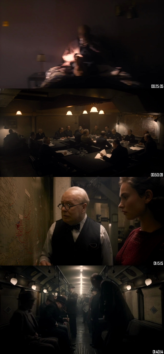 Darkest Hour 2017 BRRip 720p 480p Dual Audio Hindi English Full Movie Download