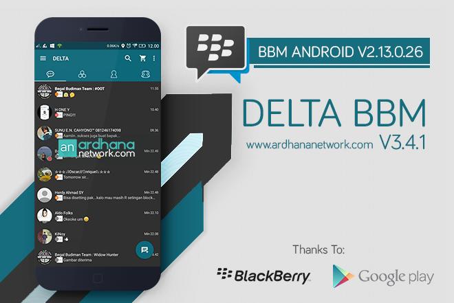 Delta BBM V3.4.1 - BBM MOD Android V2.13.0.26