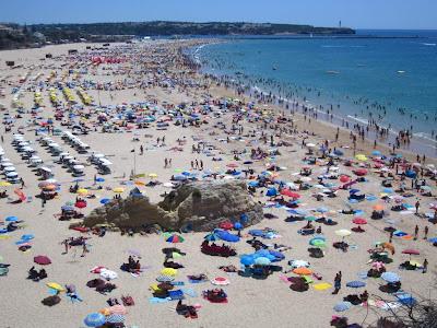 Praia da Rocha in Algarve