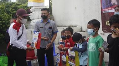 Bulan Bung Karno, SMK TI Bali Global Badung Gelar Bakti Sosial di Kelurahan Ubung