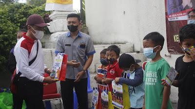 Bakti Sosial SMK TI Bali Global Badung, Kodim, Karang Taruna Denpasar, Kelurahan Ubung, Denpasar Utara (1)
