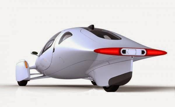 auto electronico muy moderno