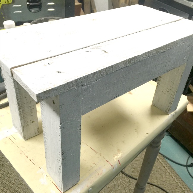 How To Build A Rustic Foot Stool Homeroad