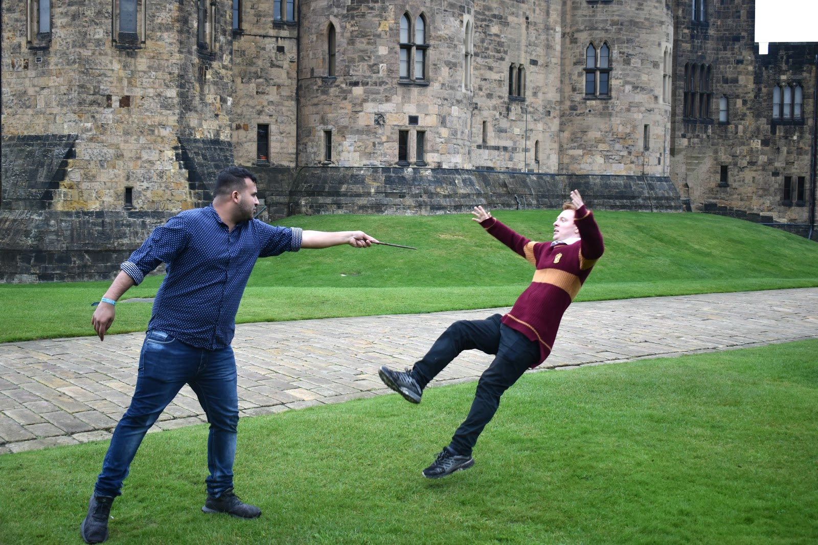 Alnwick Castle - Harry Potter Lessons