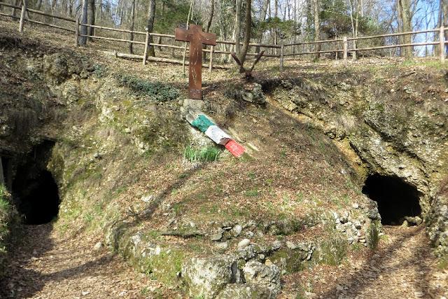 sentiero due rocche asolo