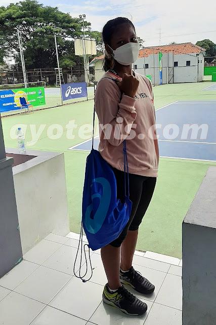 Hasil Pertandingan Invitasi Tenis Yunior Kelompok Putri Hari Ketiga, 10 Maret 2021
